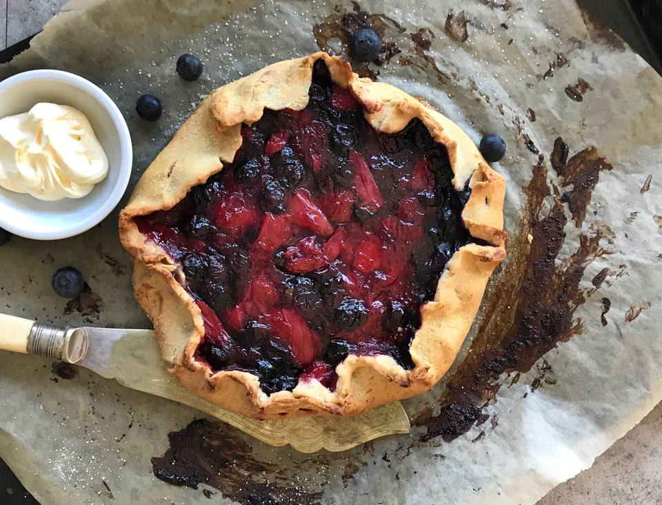 Berry Galette Recipe