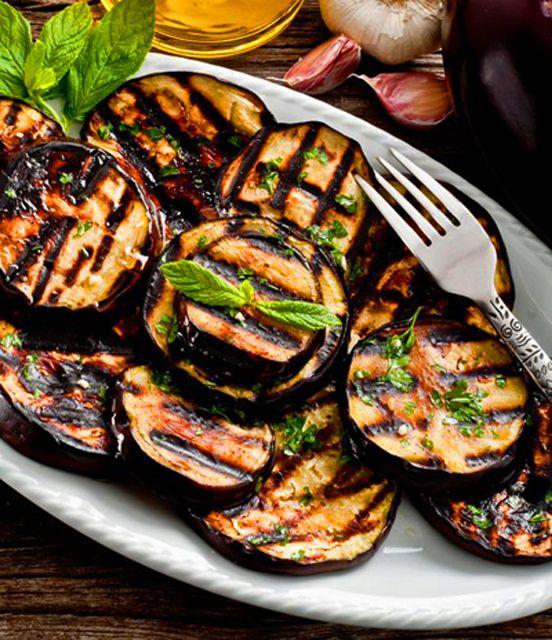 Amazing Grilled Eggplant!
