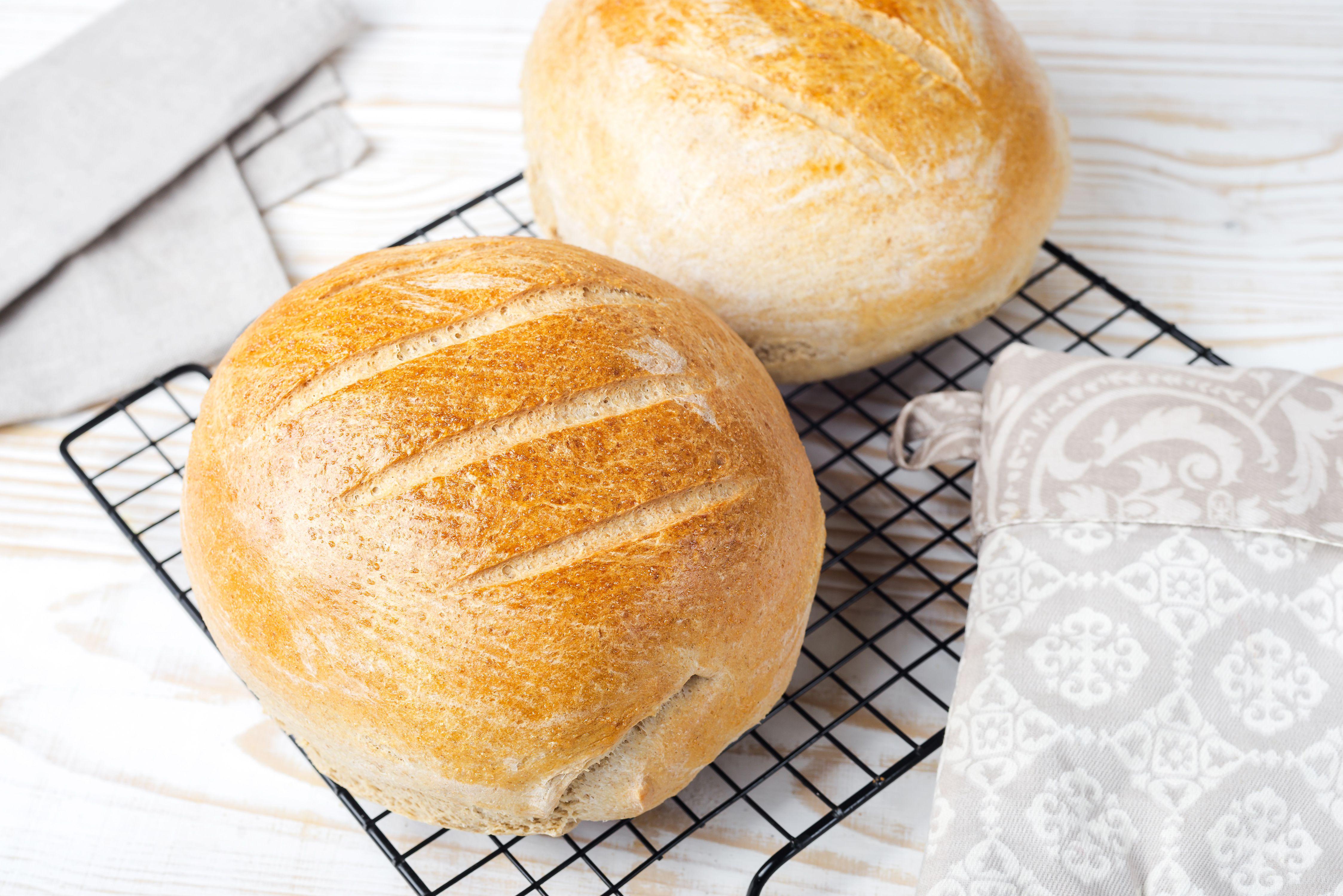 Baked dough
