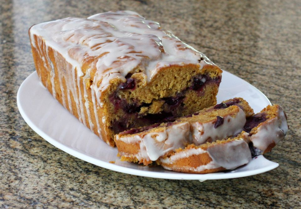 blueberry sweet potato bread