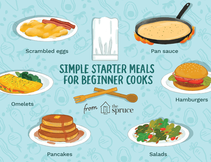 starter meals for beginner cooks