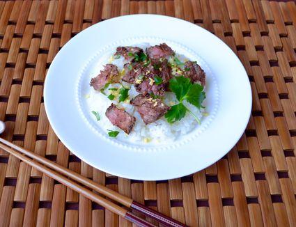 Beef Chirashi Sushi