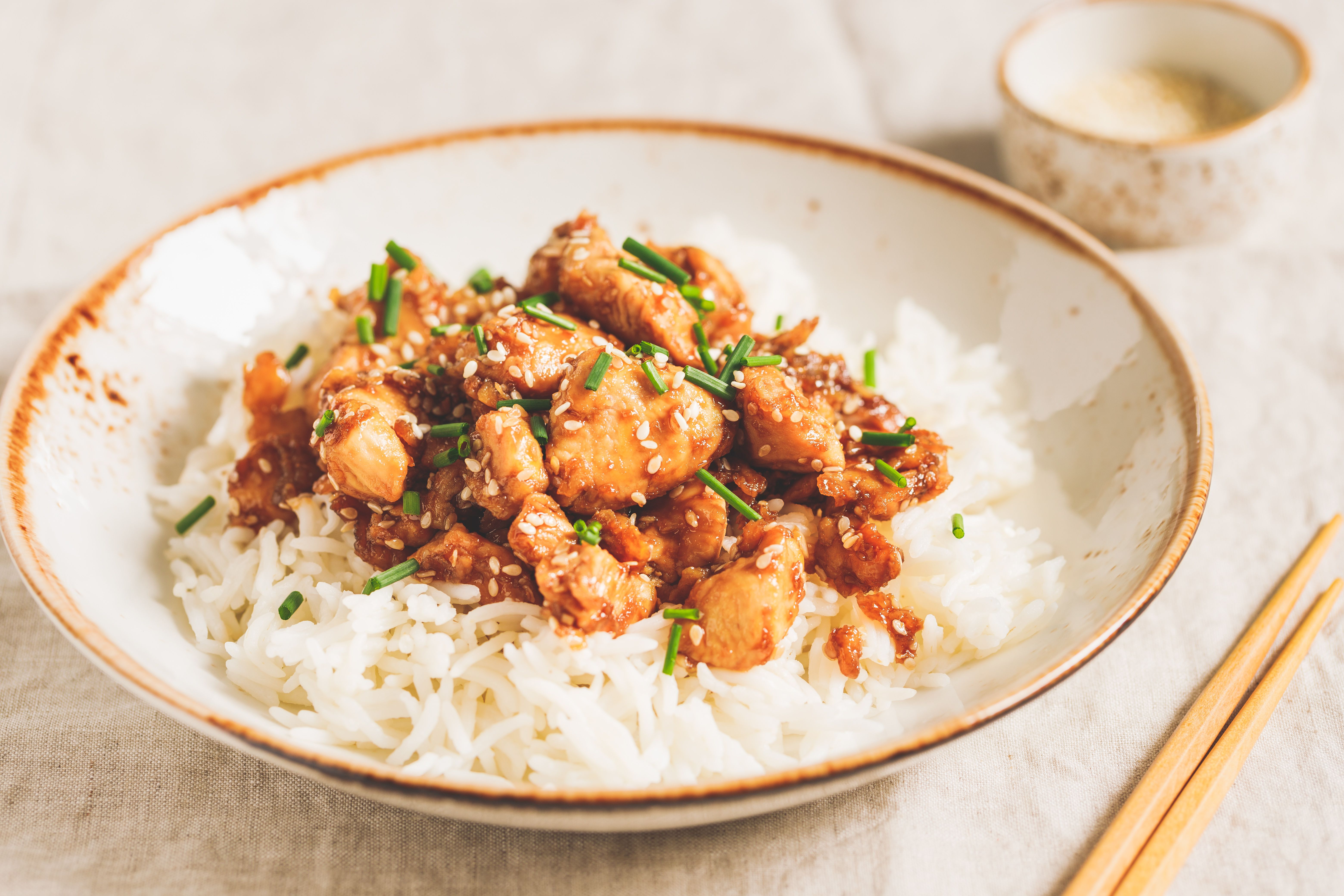 Serve over rice