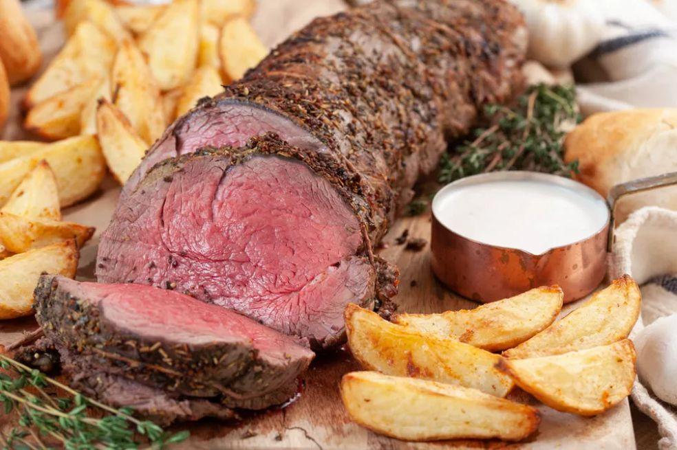 Roast Loin of Beef
