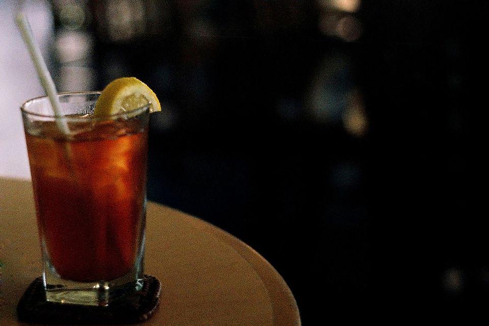 Bourbon Tea Cocktail Recipe with Limoncello