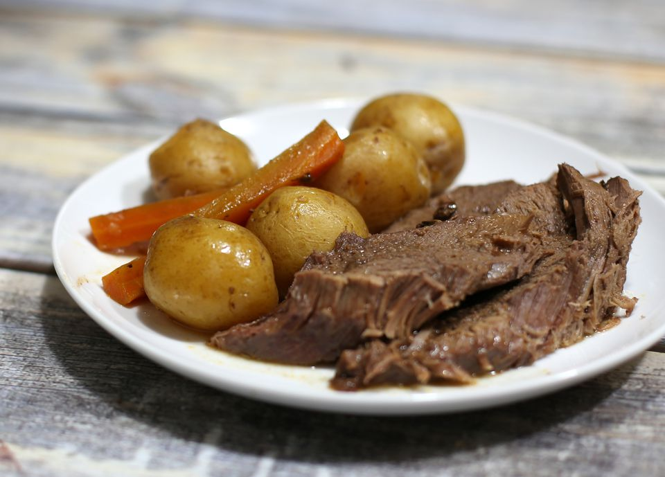 Fast and Easy Slow Cooker Pot Roast