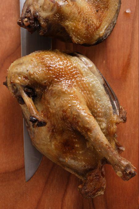 Simplest Roast Squab Recipe