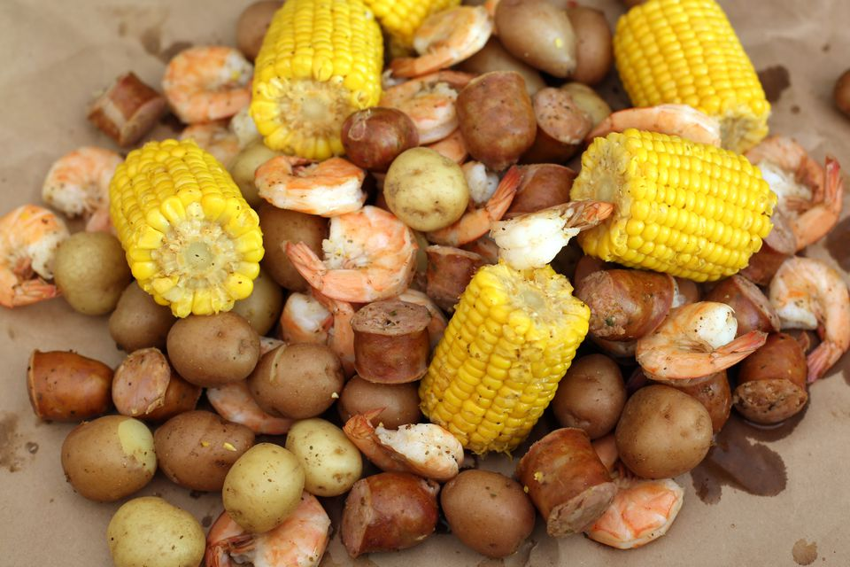 Beaufort Stew - Low Country Seafood Boil