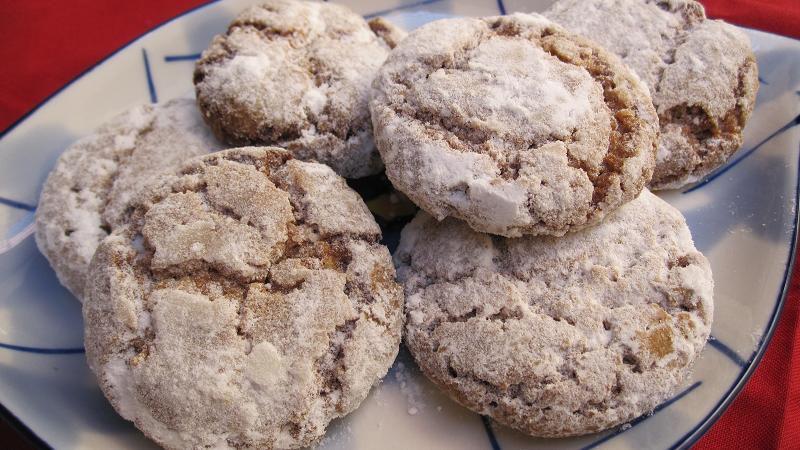 ghoriba with walnuts