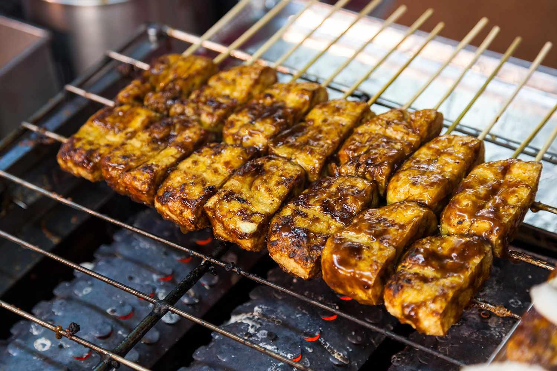 Barbecue stinky Tofu