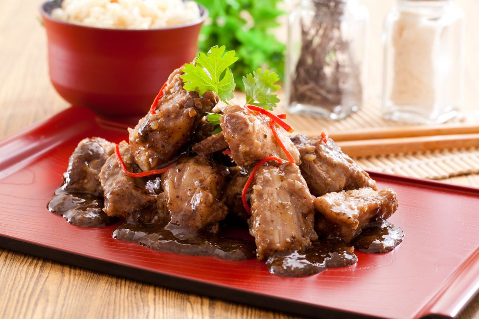 Spareribs With Black Bean Sauce