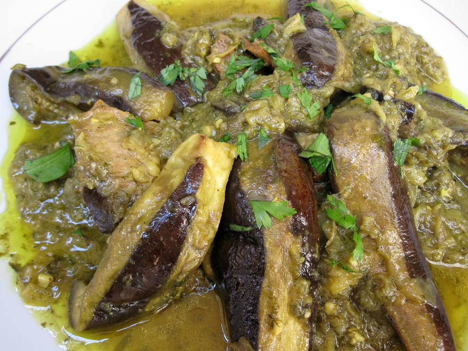 Moroccan Eggplant Tagine