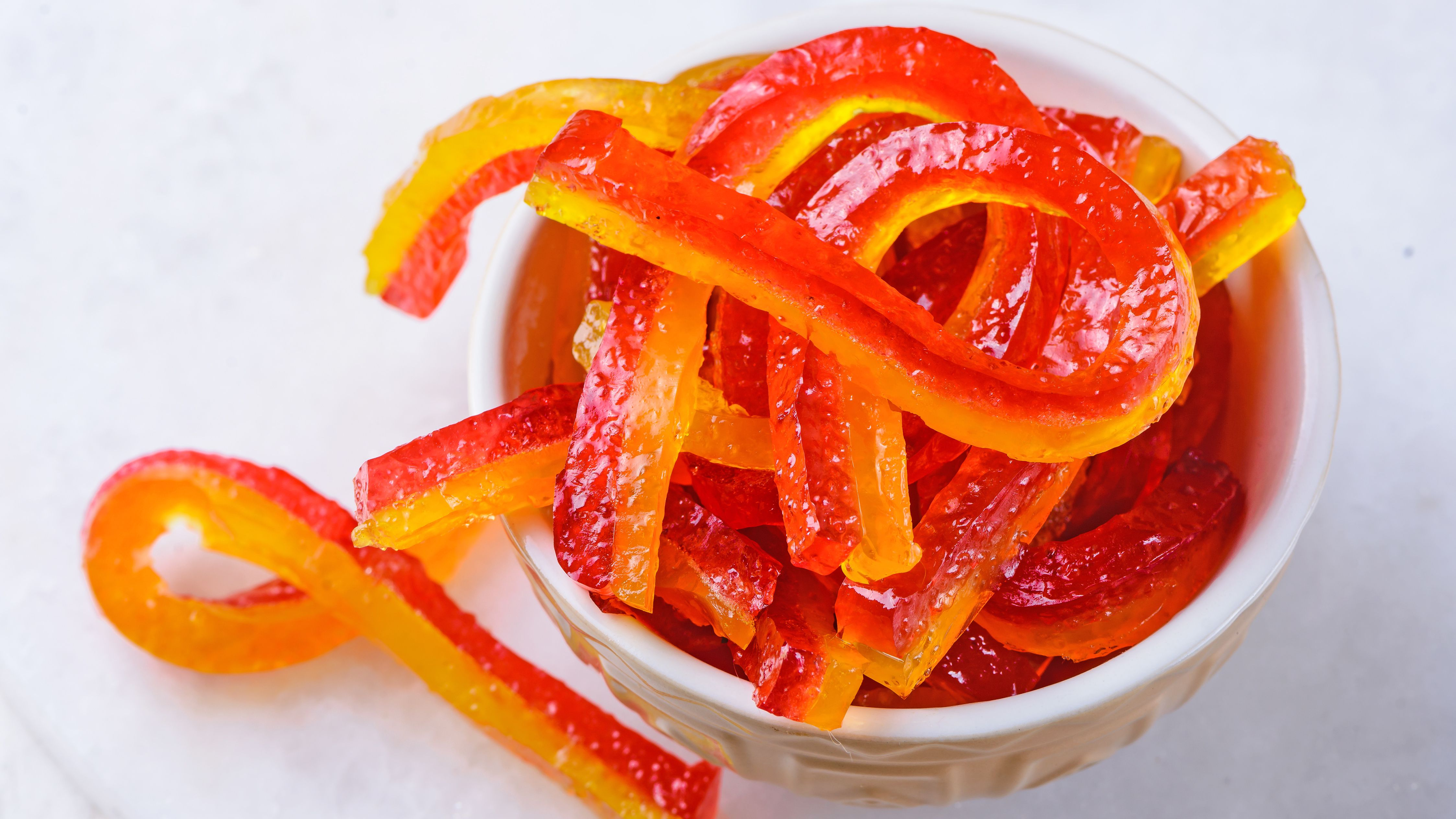 Homemade Gummy Worms Candy Recipe