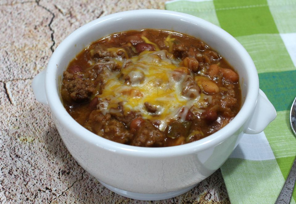Bean Bake With Cheese