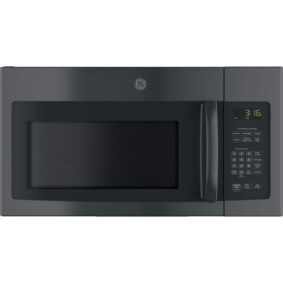 Click image to open expanded view GE JNM3163DJBB Over-the-Range Microwave