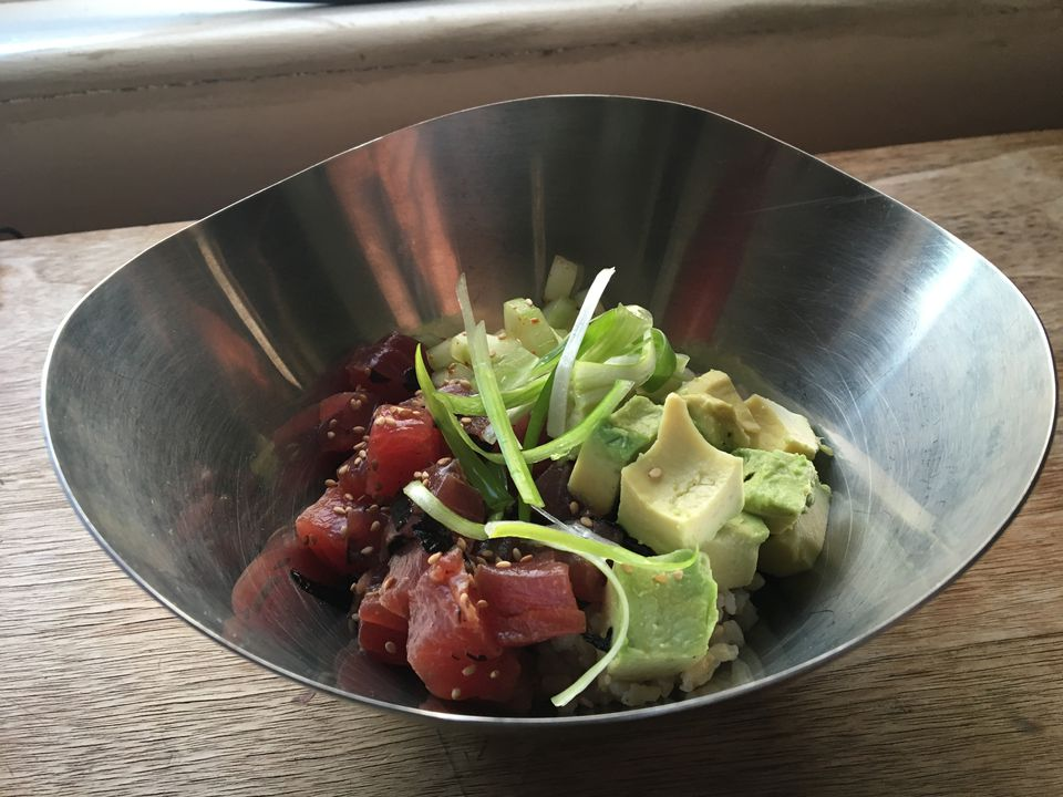 Tuna Poke Rice Bowl
