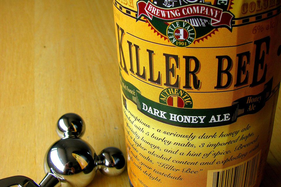 Killer bee dark honey ale