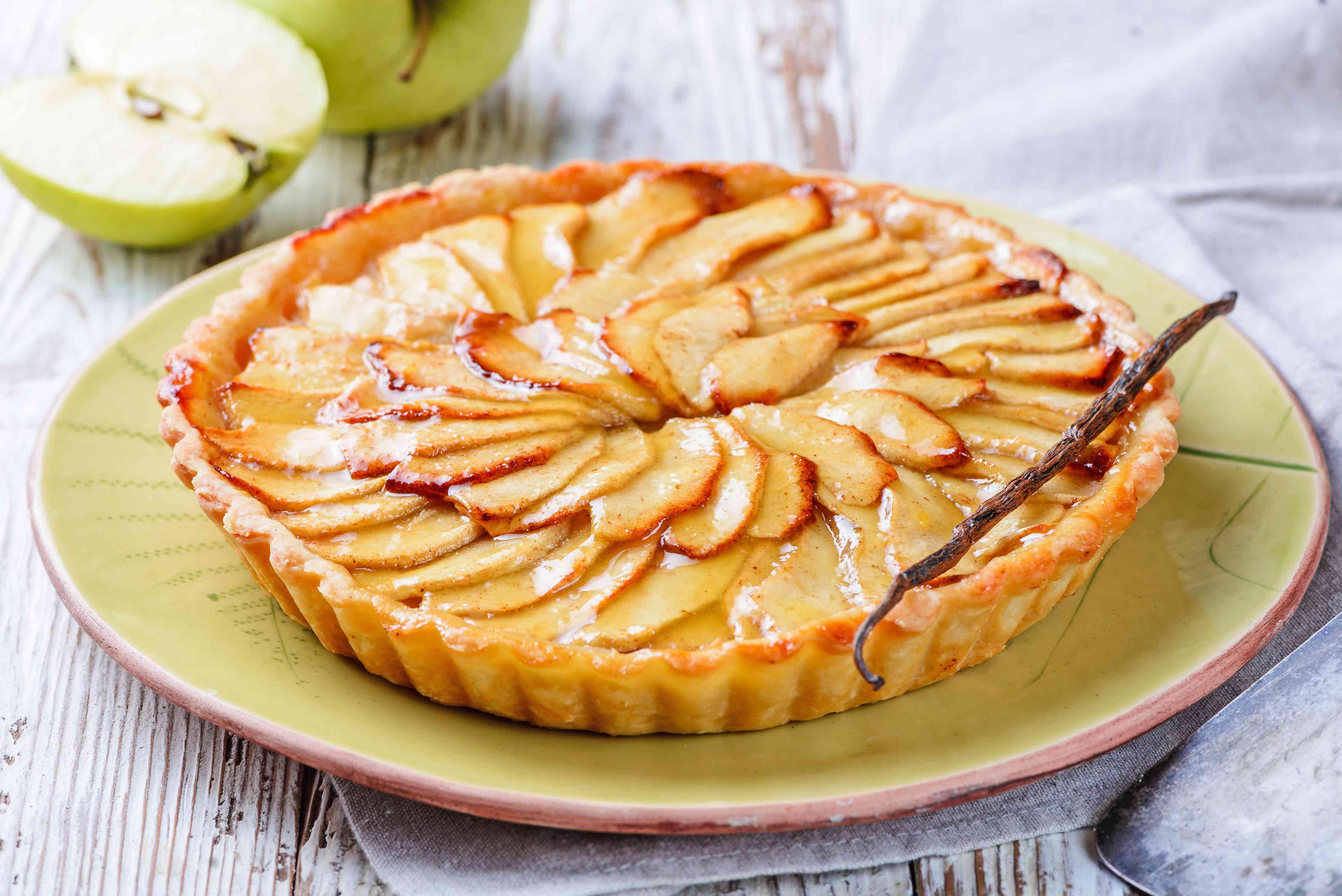Refridgerate tart