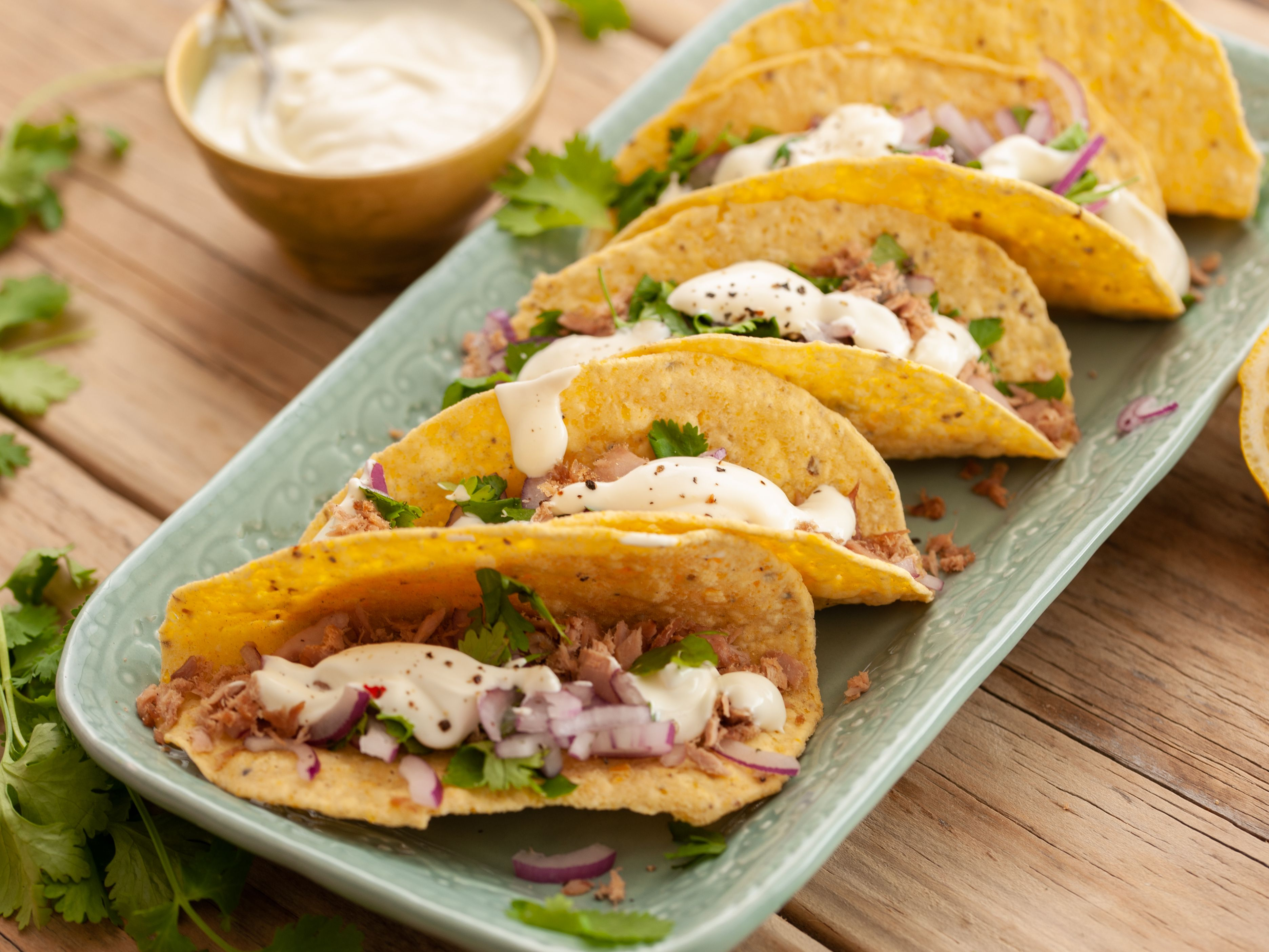 Quick And Easy Canned Tuna Fish Tacos Recipe