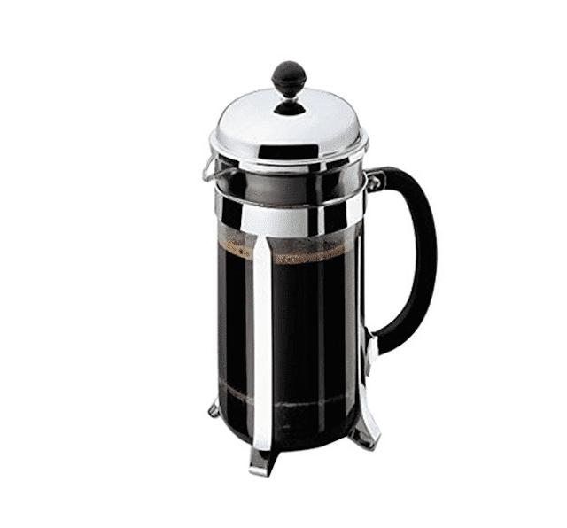 Bodum Chambord 8 Cup French Press Coffee Maker, 34 oz., Chrome