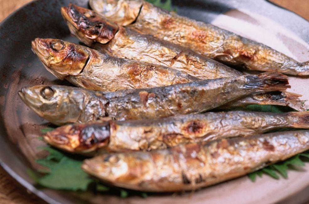 Baked Sardines With Garlic and Oregano