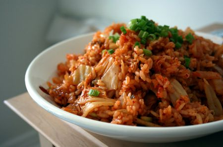 Kimchi fried rice kimchi bokumbap recipe kimchi fried rice ccuart Gallery