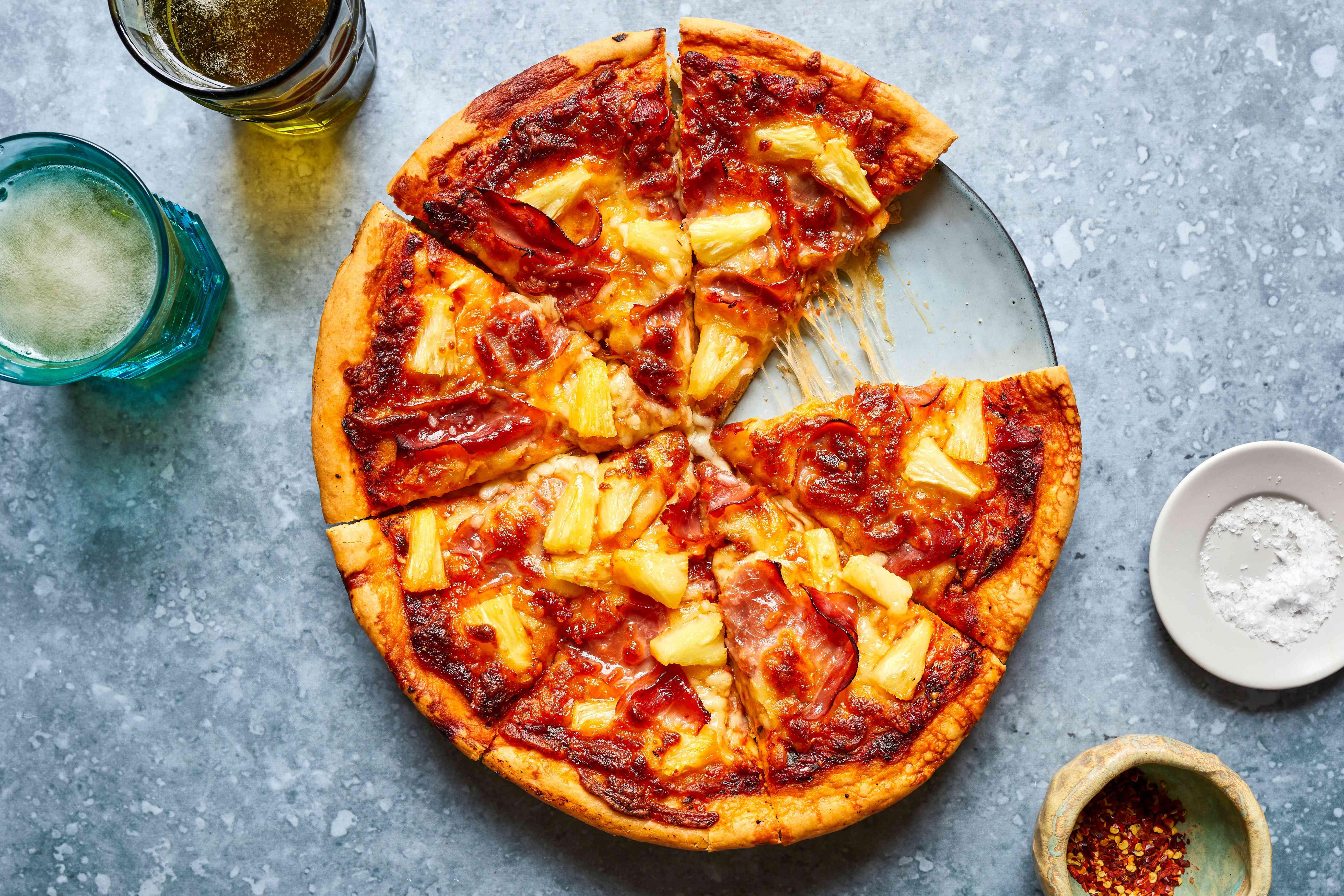Hawaiian pizza recipe