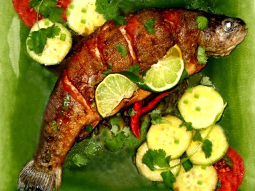 Thai Whole Fish Recipe With Coriander Chili Sauce