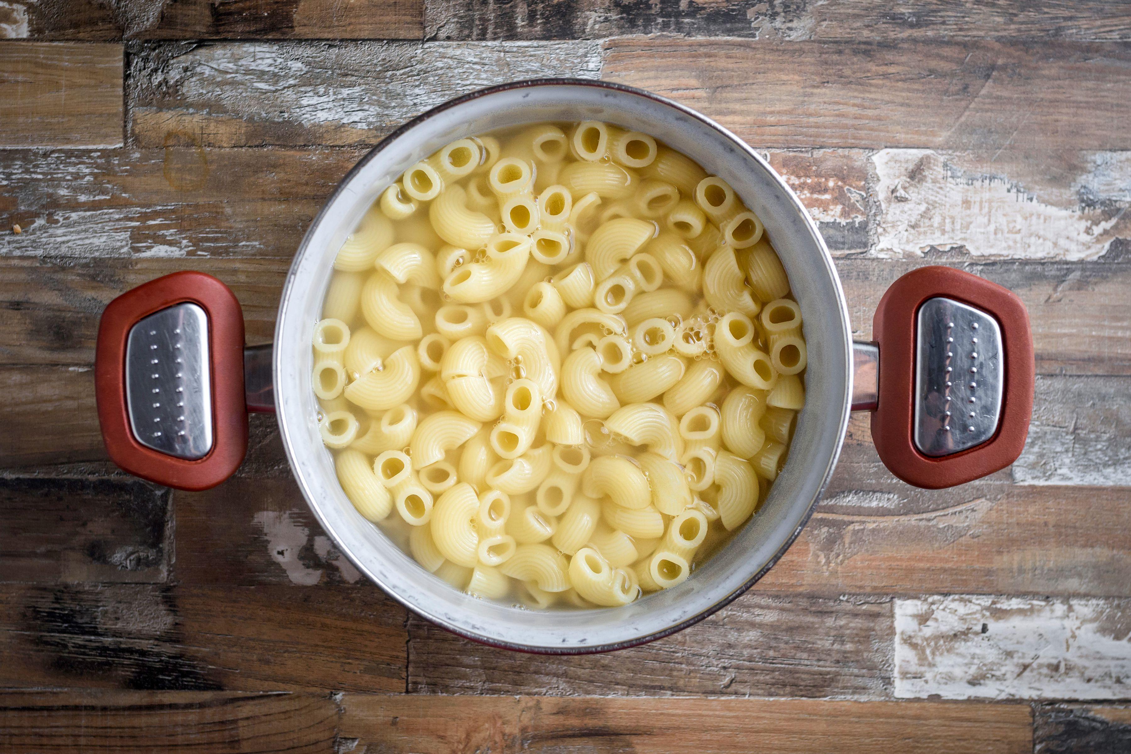Cook macaroni