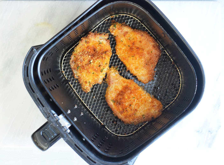 Flip the pork chops