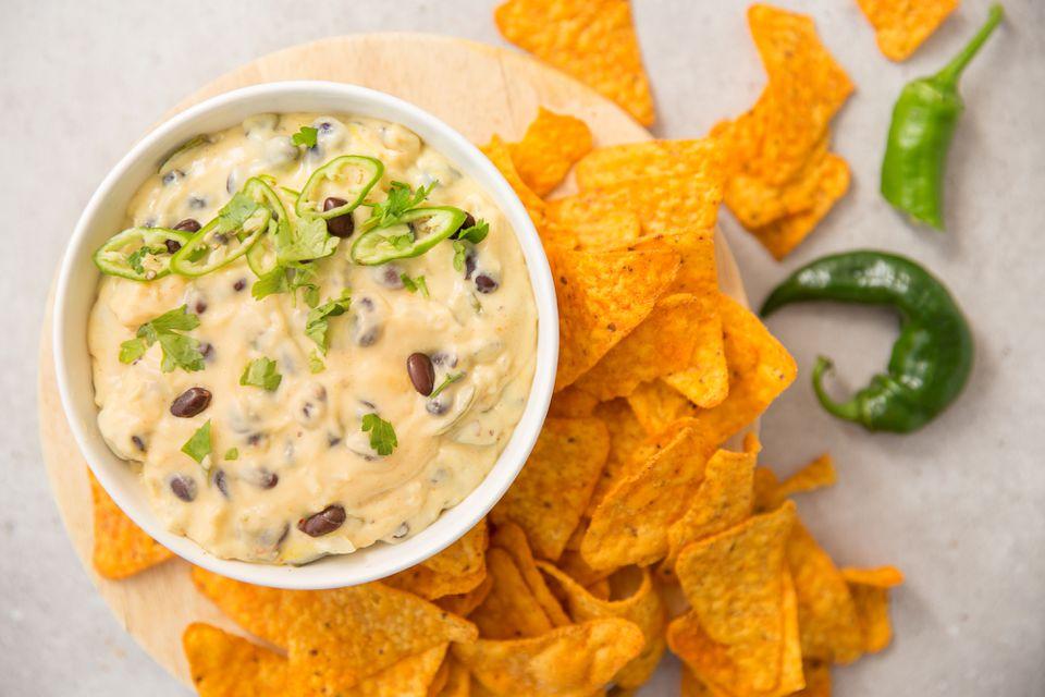 Black beans and cheese bean dip recipe