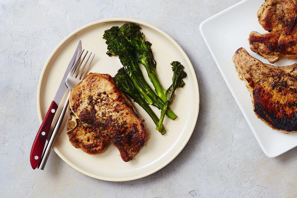 Oven-Roasted Pork Chops