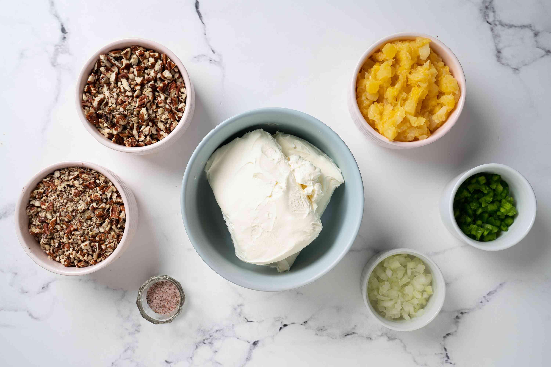 Pineapple Cheeseball ingredients