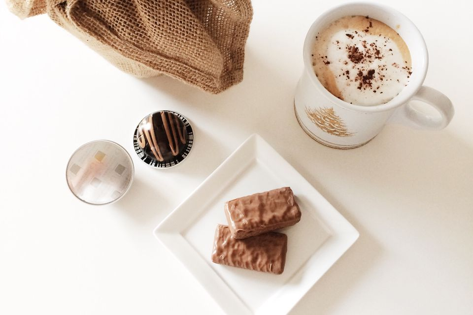 Tim Tams and espresso