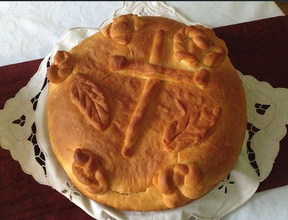 Serbian Cesnica Bread