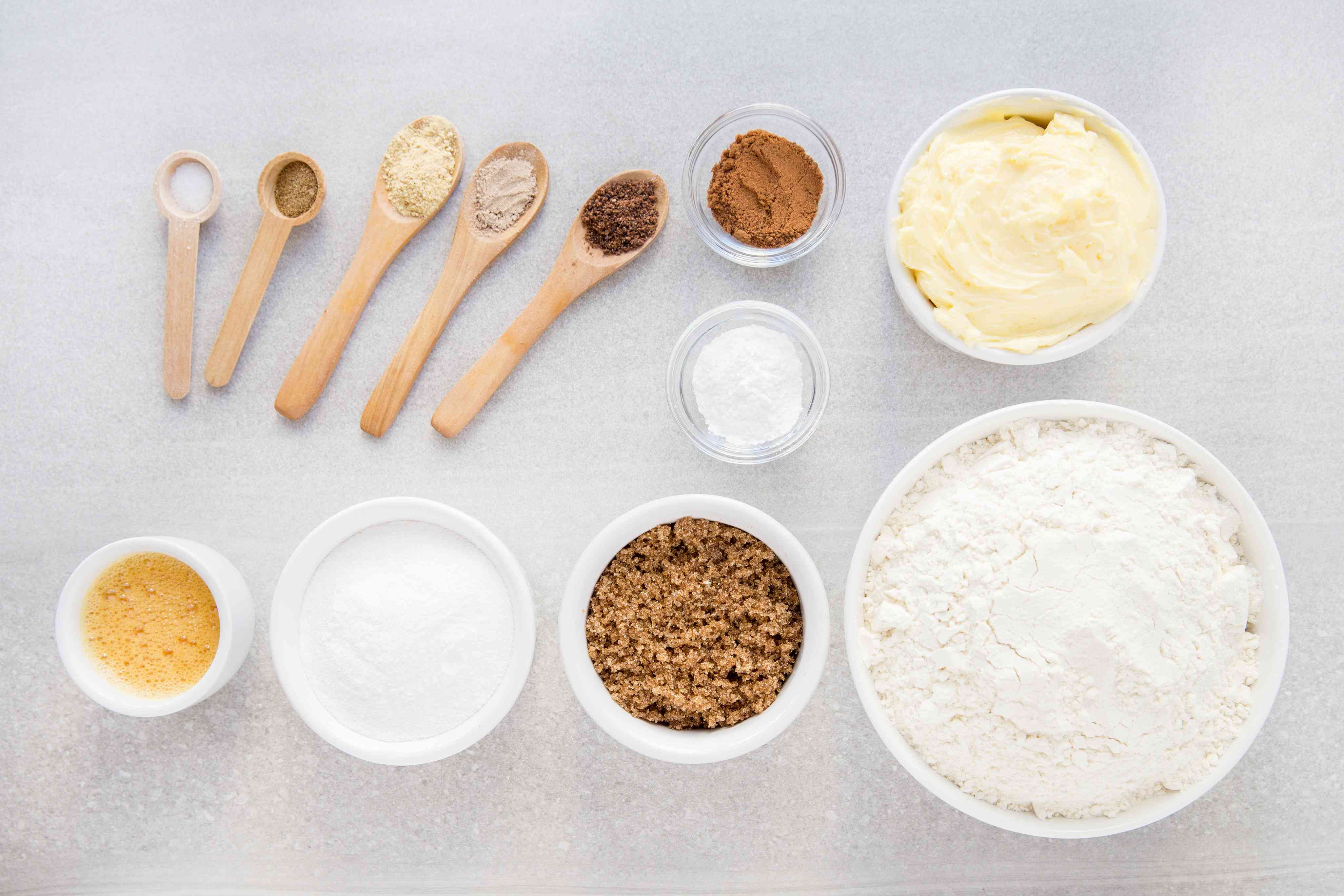Traditional Ginger Biscuit Recipe ingredients