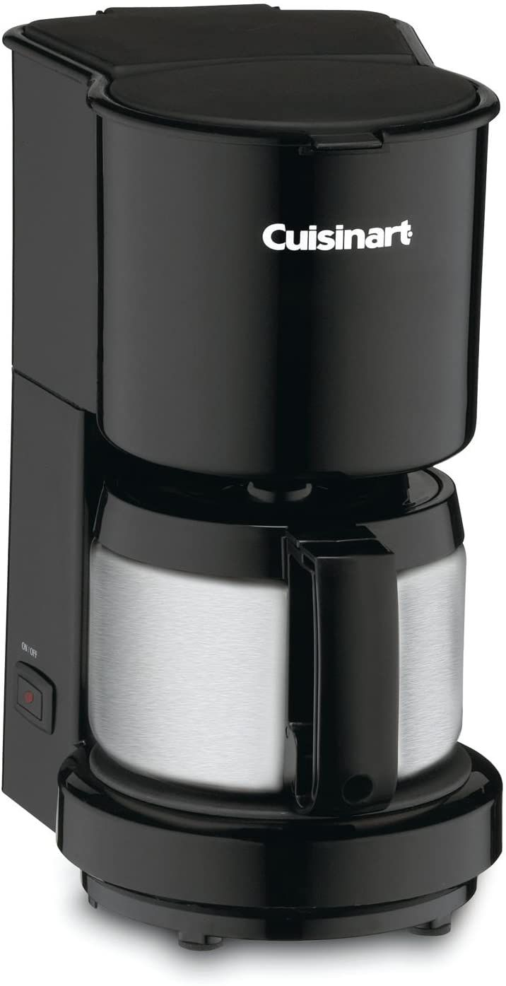 Cuisinart DCC-450 4-Cup Coffee Maker with Stainless Steel Carafe