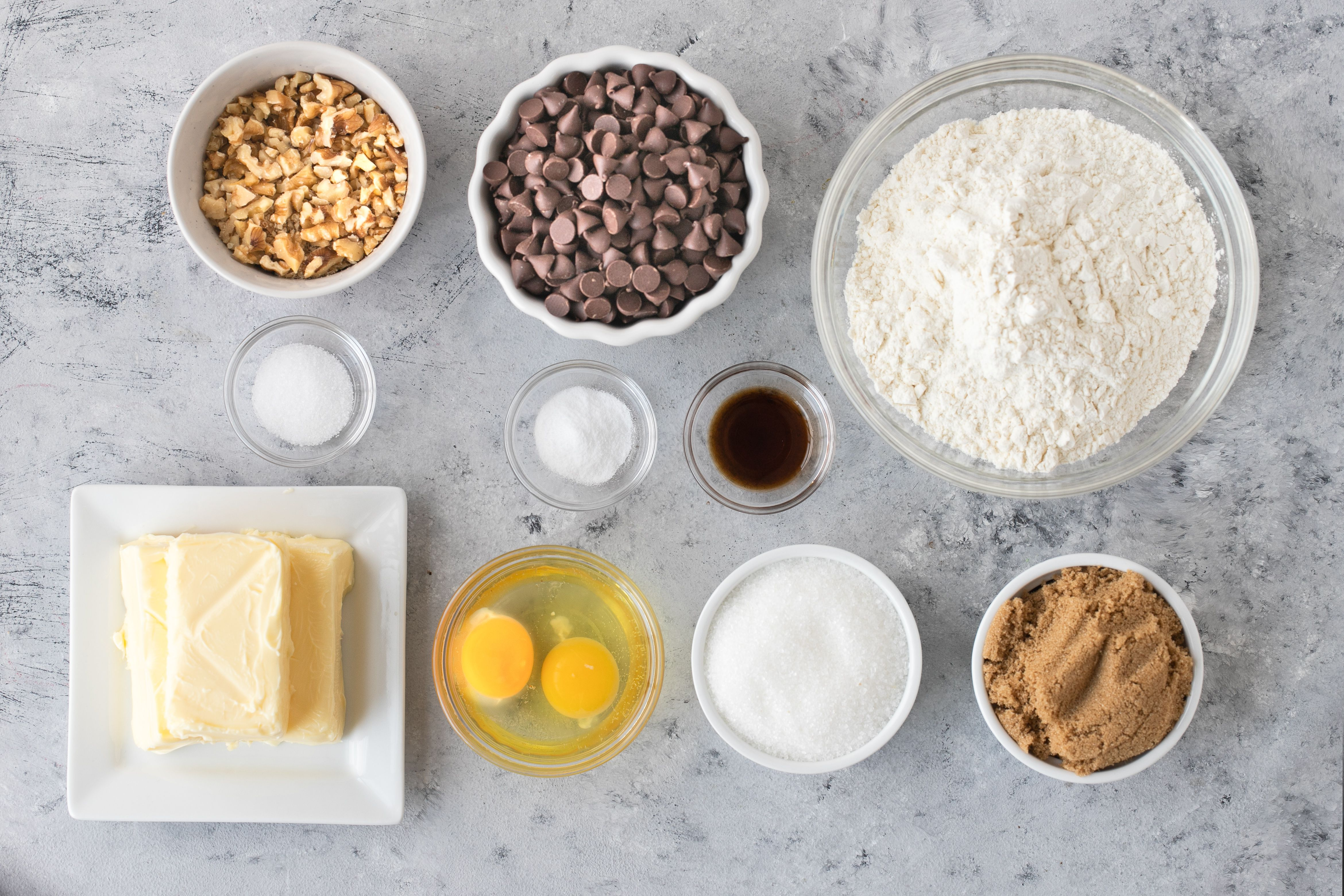 Toll House Chocolate Chip Cookie Recipe ingredients