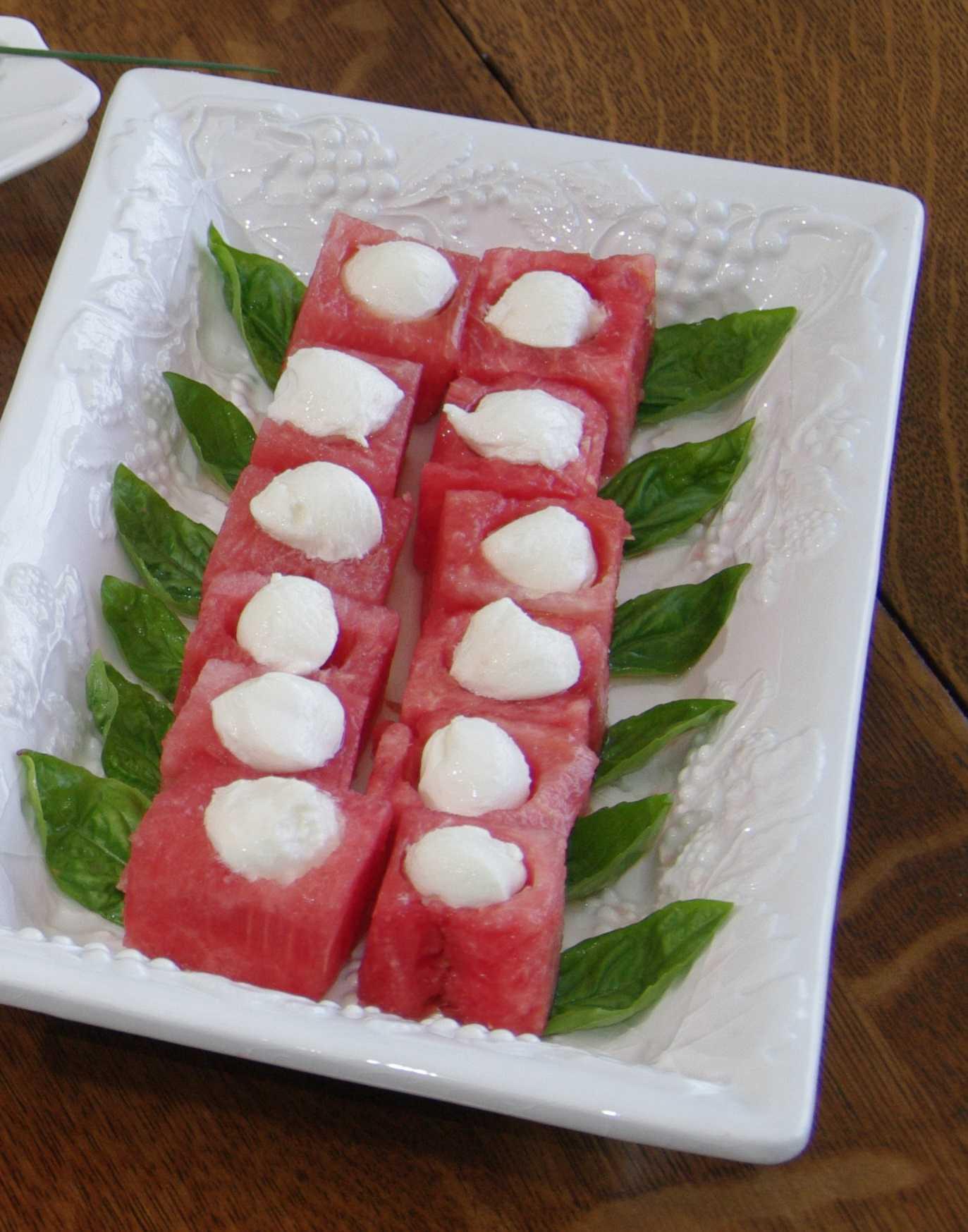 Easy Watermelon and Mozzarella Salad Recipe