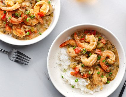 Cajun-Style Shrimp Etouffee