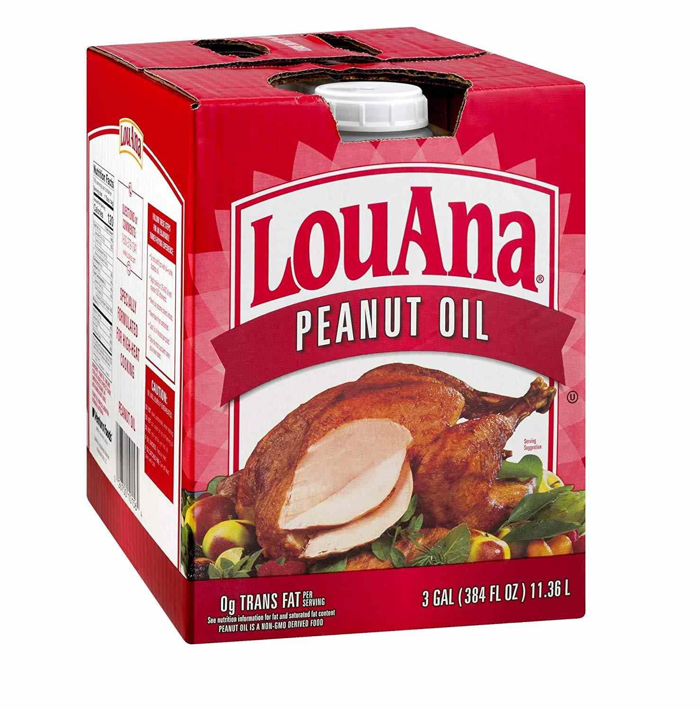LouAna Peanut Oil, 3 Gallons