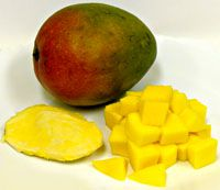 mango, history, recipes, cut, seed, fruit, receipts