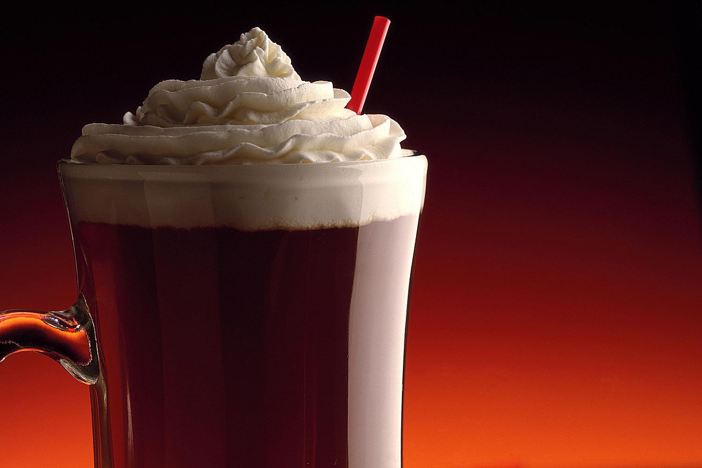 Irish Winter - whiskey spiked hot coffee