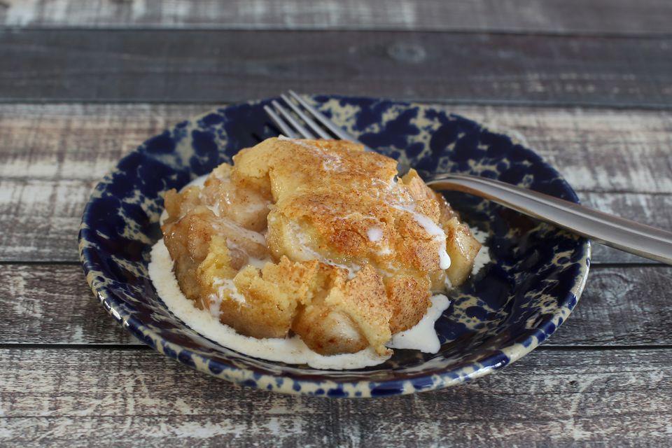 Spiced Apple Crunch Dessert