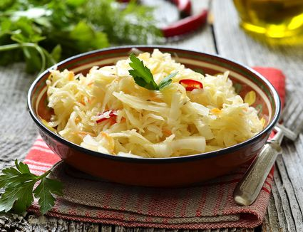 Sauerkraut Salad With Oil