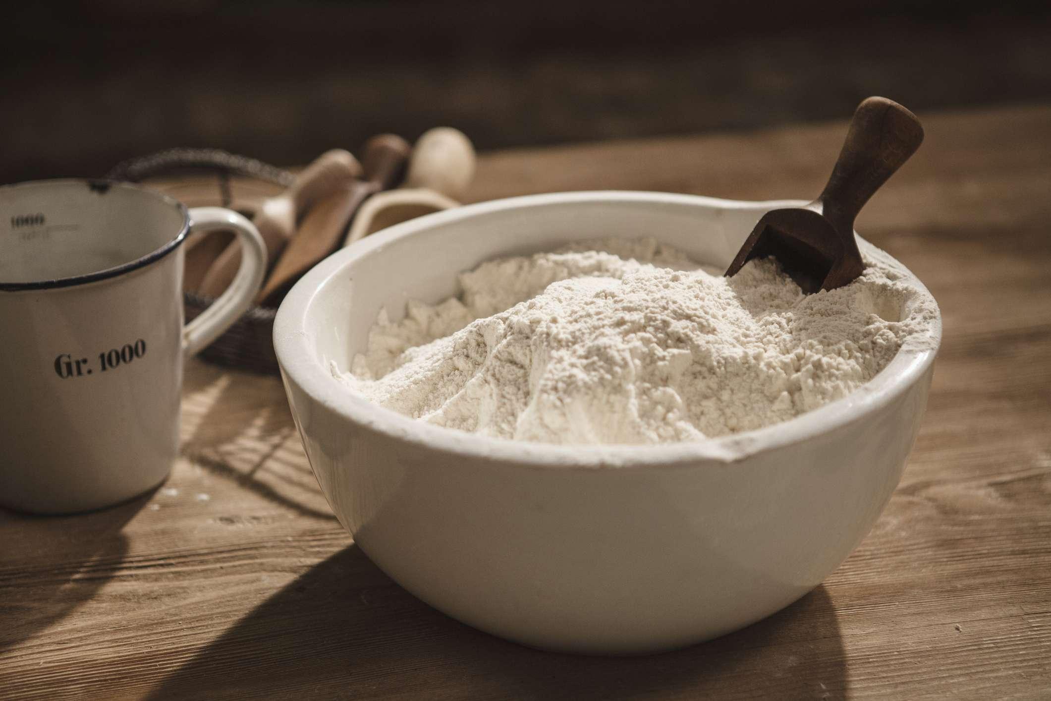 Bowl of flour