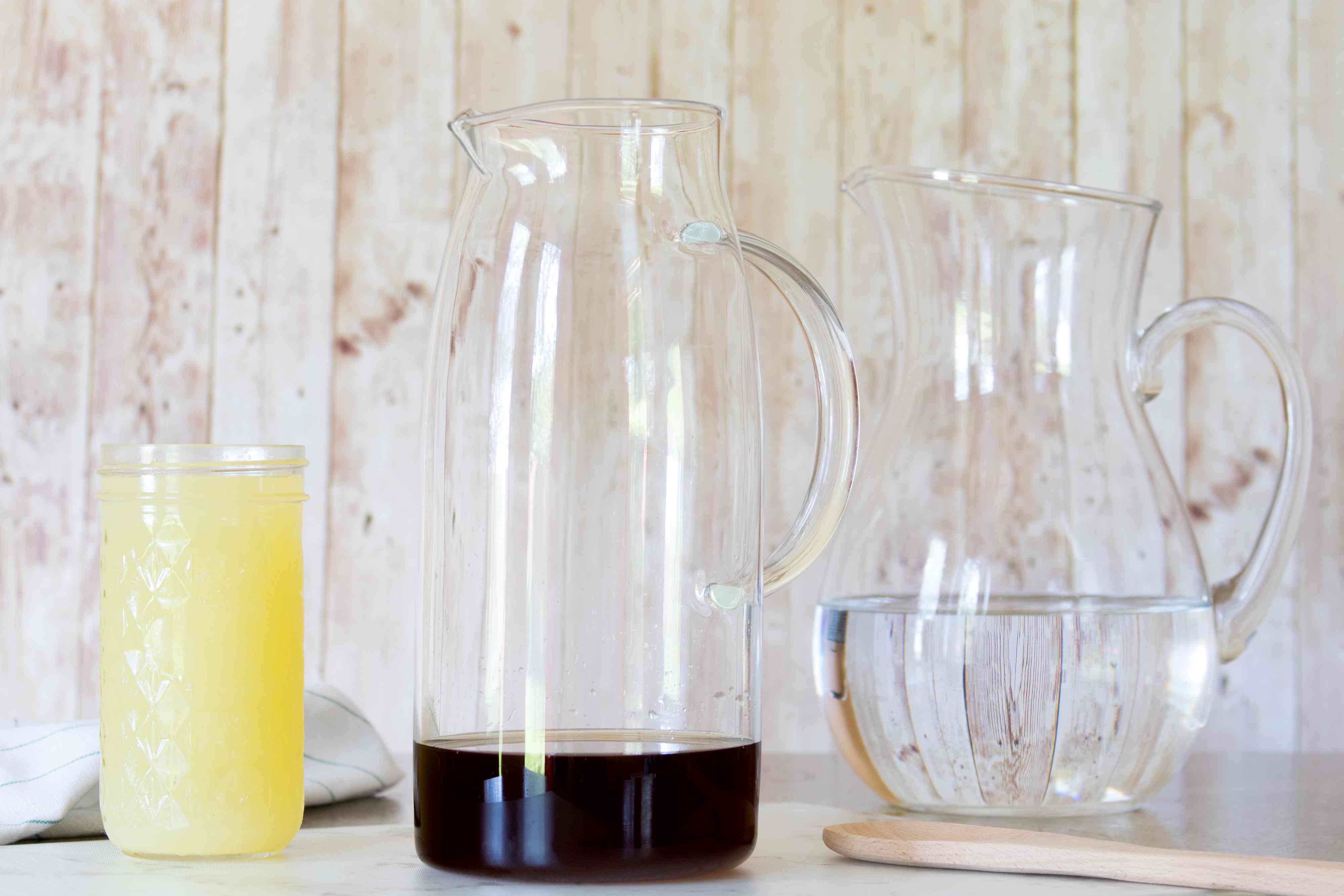 Mixing Up a Pitcher of Ginger Lemonade