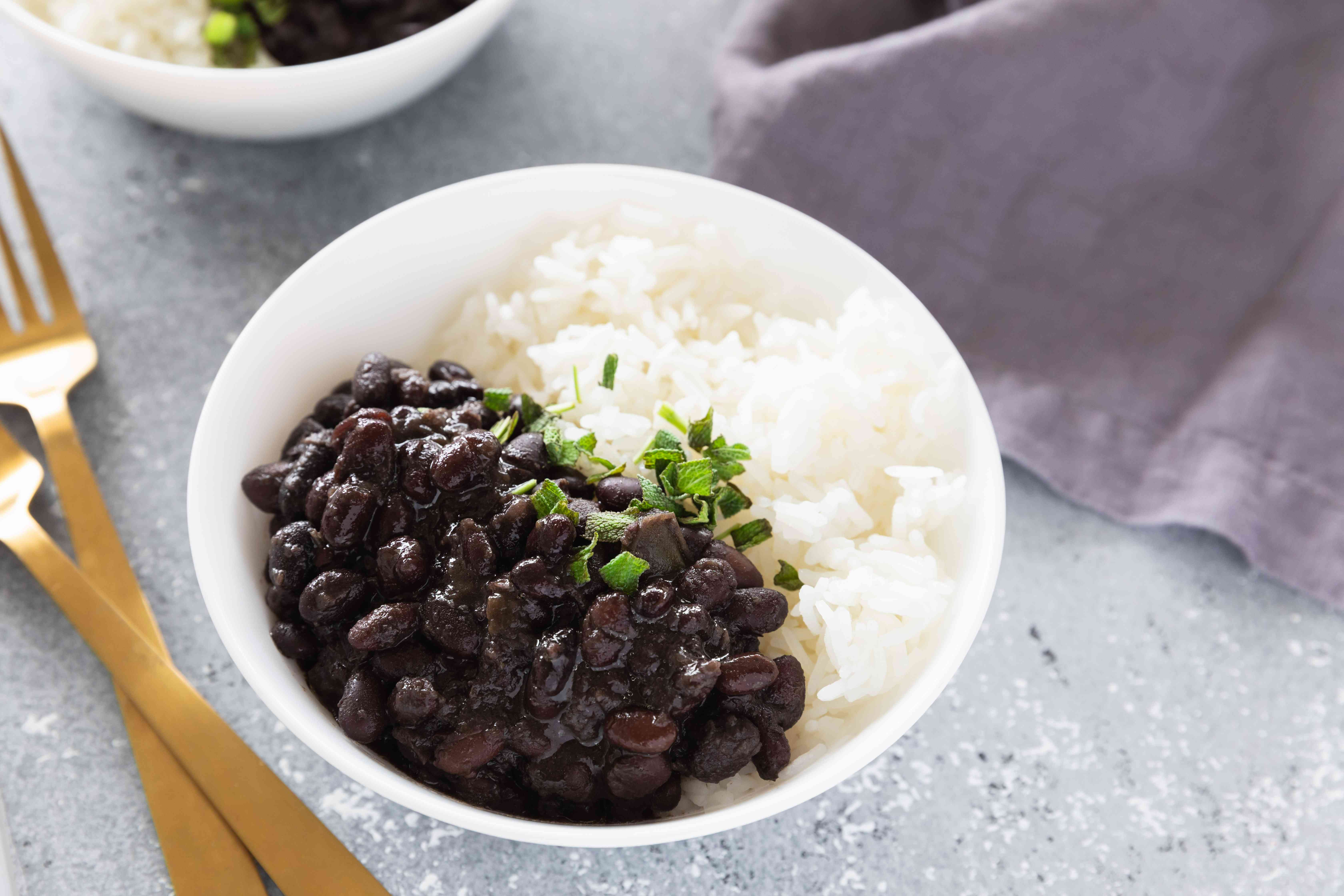 Frijoles negros black beans recipe