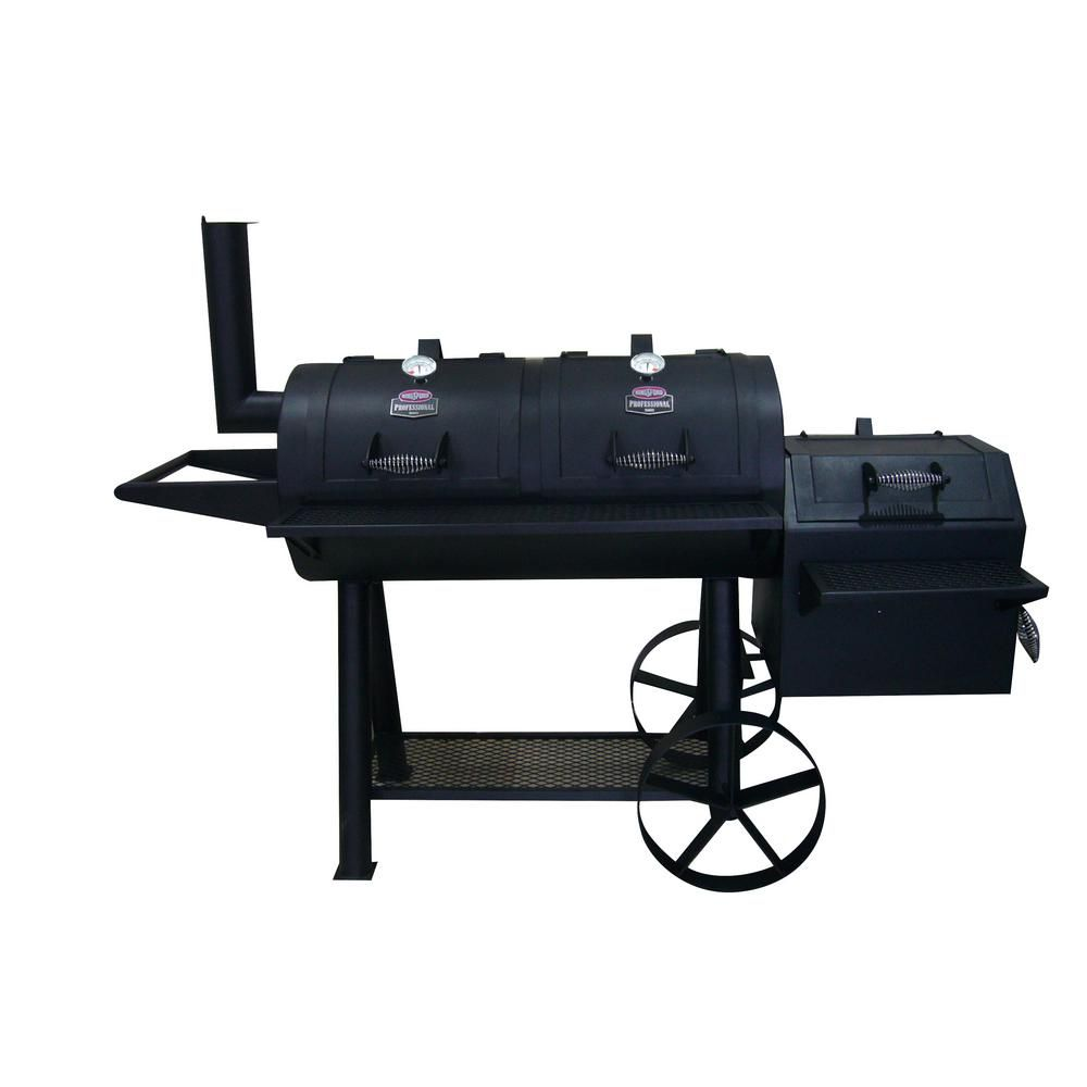 Best With Smoker Kingsford Ranchers Steer Series Charcoal Grill