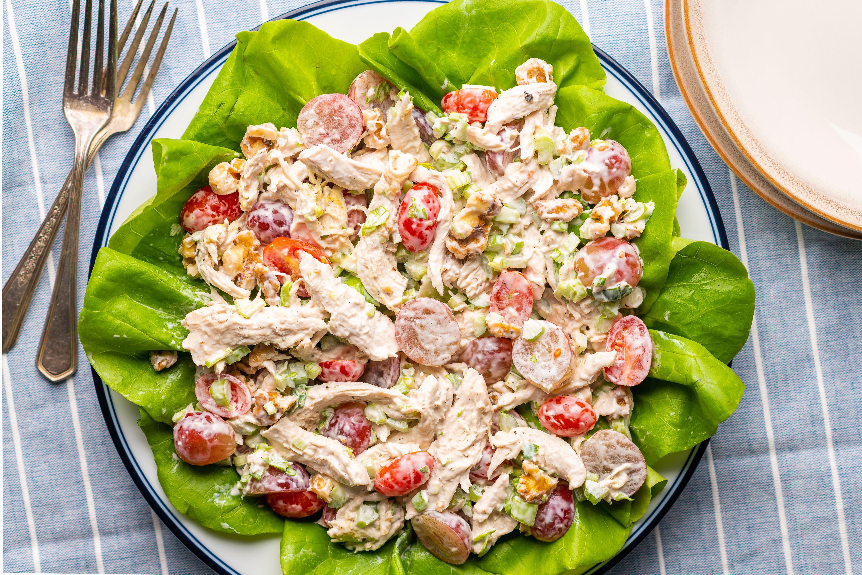 Chicken Salad Recipe No Grapes Or Nuts
